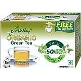 Eco Valley Organic Green Tea, Tulsi, 30 Tea bags