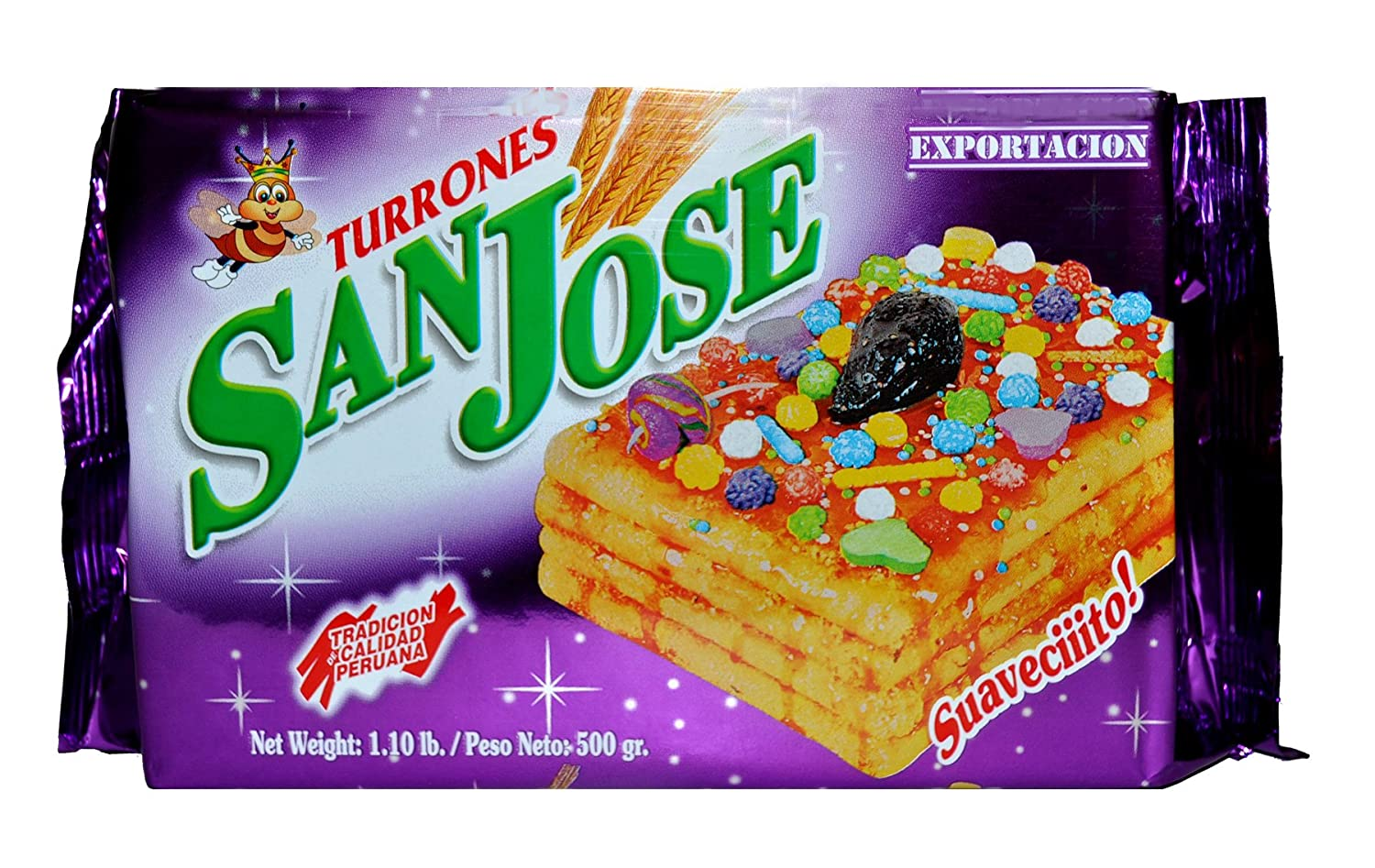 Amazon.com : Turron de Doña Pepa San Jose 1.1 lbs (2 Pack) : Grocery & Gourmet Food