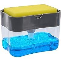 Soap Pump Dispenser and Sponge Holder - 2 Pack