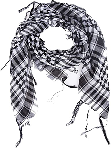 Mens Women Army Military Tactical Keffiyeh Shemagh Wind Sand Scarf Head Wrap UK