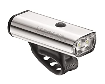 Lezyne Power Drive XL 1100 Lumens LED Bike Headlight USB Rechargeable Silver