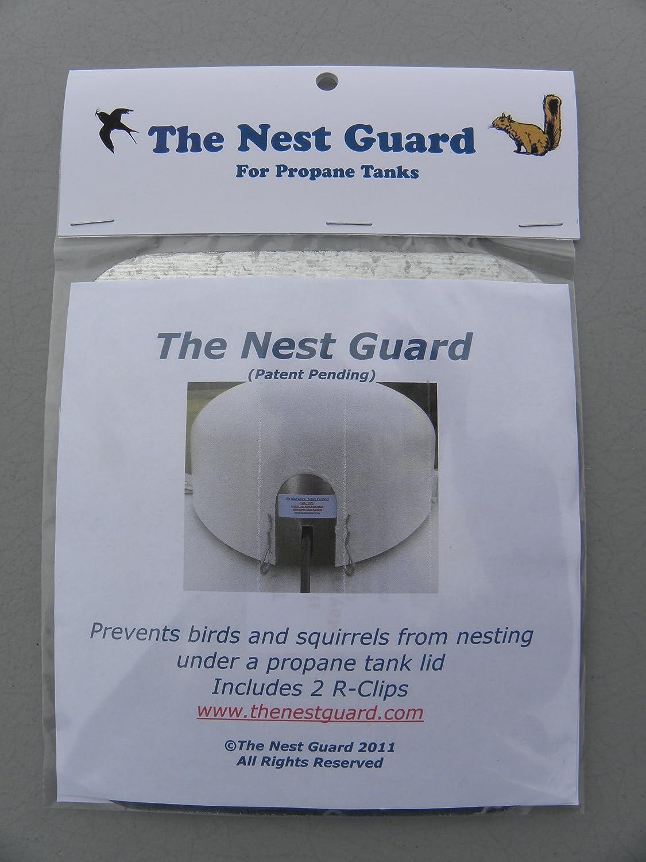 Amazon com : The Nest Guard (for Propane Tanks) : Bird Nests
