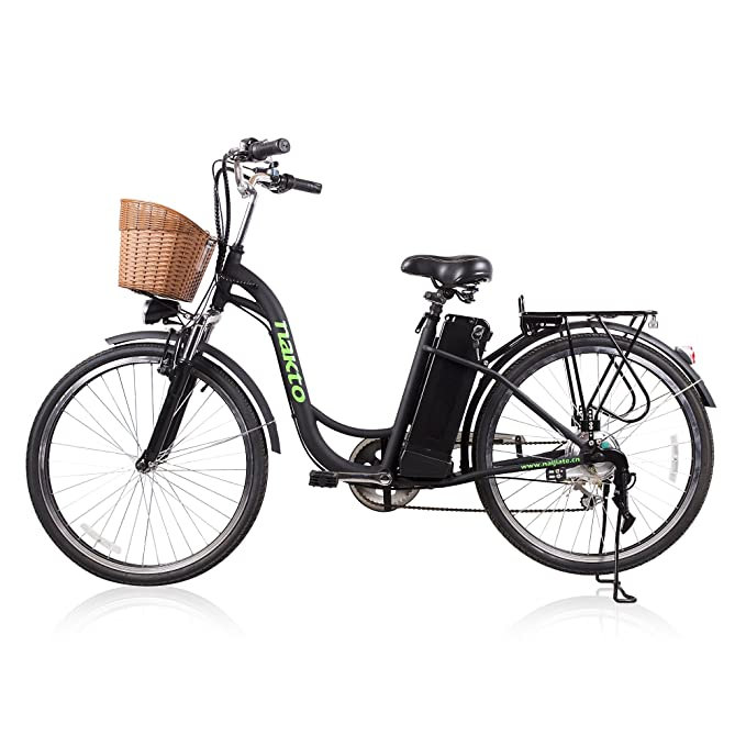 Amazon Com Nakto 26 City Adult Electric Bicycles 1 Year Warranty