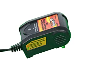 WirthCo 20062 Battery Doctor Black CEC Certified Smart Battery Charger and Maintainer (12V, 500 m AMP)