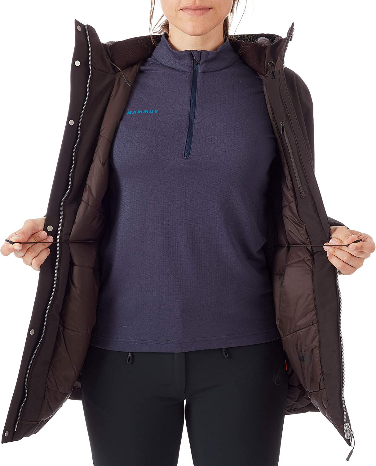 Mammut Chamuera Hs Thermo Hooded Parka Clothing