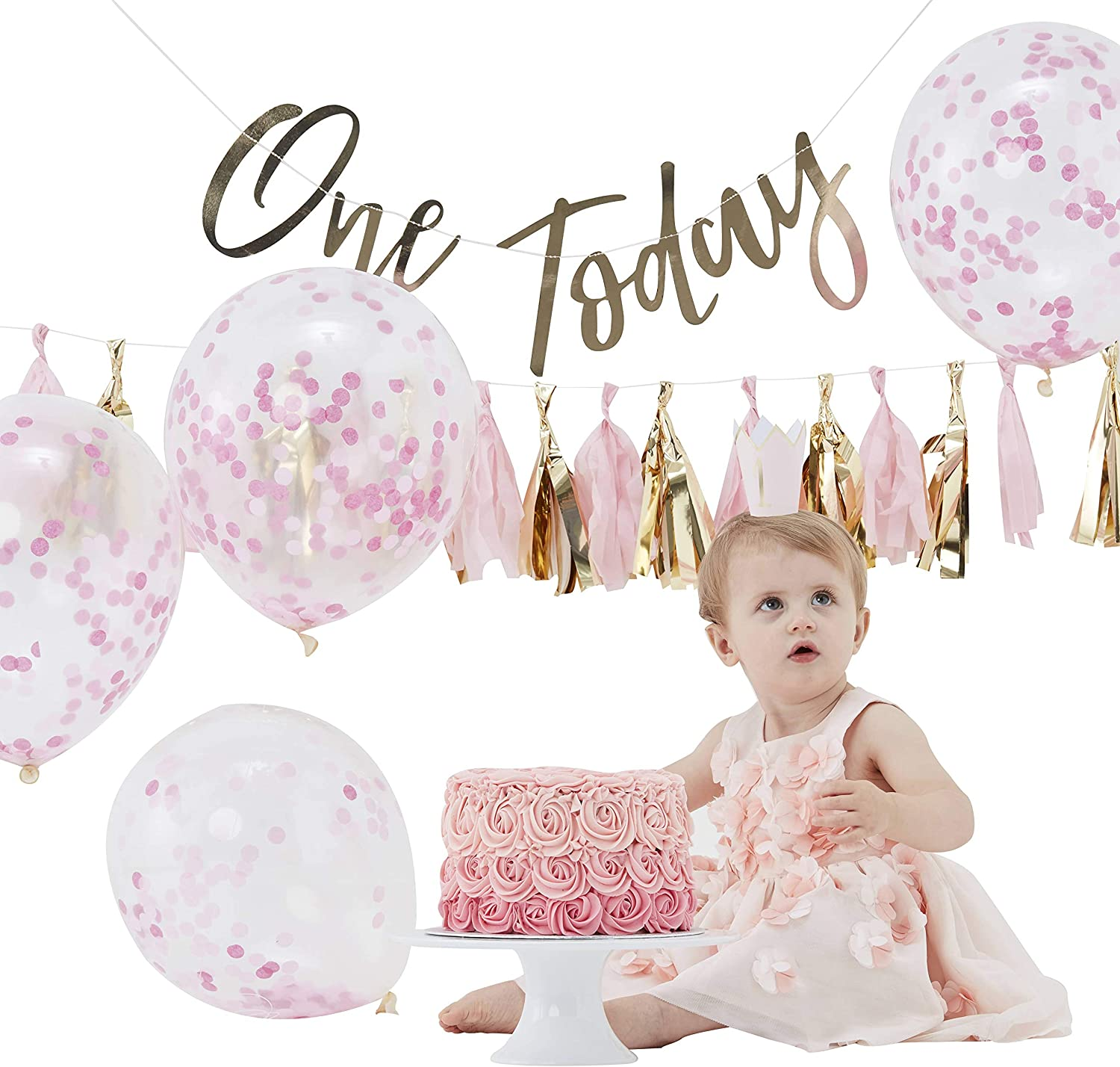 1st Birthday Set Giggle /& Hoot 4 Piece Cake Smash Outfit