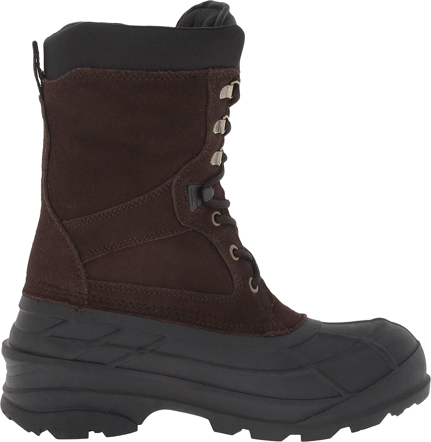 Kamik Nation2 Steel Toe Work Boots Mens Black Online Sale