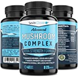 Mushroom Supplement Lions Mane Cordyceps - Organic Comprehensive Support for a Robust and Resilient Immune System…