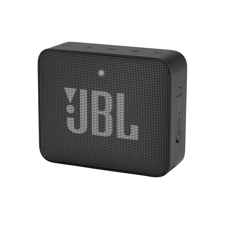 JBL Go2 Plus Portable Bluetooth Speaker with Mic (Black)