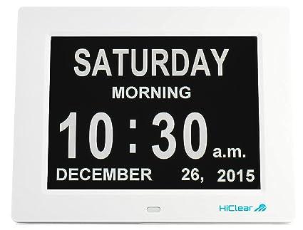 Amazoncom Dementia Alzheimers And Memory Loss Digital Calendar