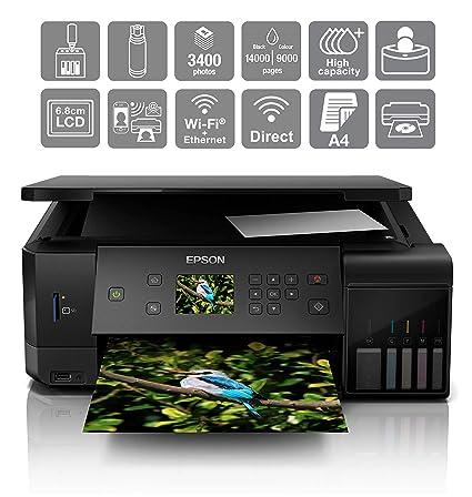 Epson EcoTank ET-7700 Inyección de Tinta 32 ppm 5760 x 1440 ...