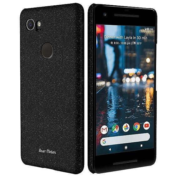 huge discount 50e88 888ca Slim Case for Google Pixel 2 Case - Bear Motion Premium Back Cover for  Google Pixel 2 - (Black)