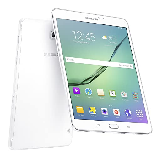 Samsung Galaxy Tab S2 VE 8 Inch Wi-Fi Tablet, (White), (Octa-Core 1.9 GHz, 3 GB RAM, 32 GB ROM, Android 6.0), UK Version,SM-T713NZWEBTU