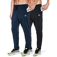 para el tiempo libre para ch/ándal o jogging para correr corte ajustado. de algod/ón Bj/örn Swensen Pantalones de deporte largos para hombre