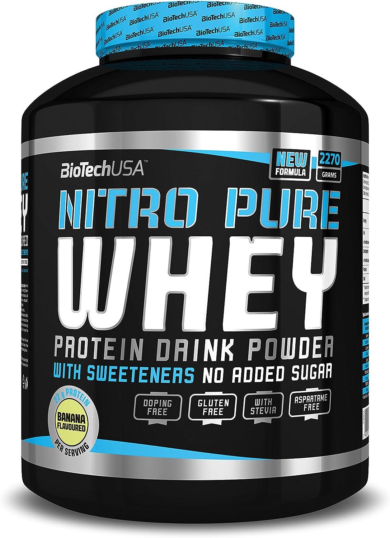 BioTech Nitro Pure Whey Proteínas Sabor Coco y Chocolate - 2270 gr