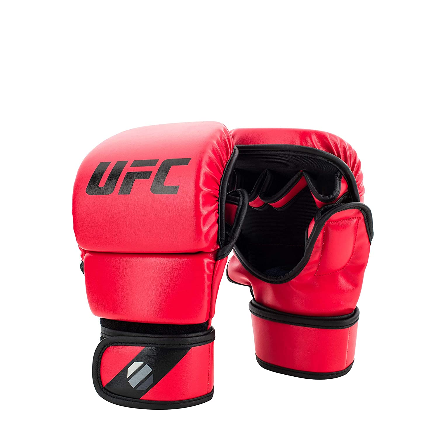 UFC 8oz MMA Sparring Gloves - L/XL - MMA Gloves, Red, Large/X-Large Spirit Combat Sports UFCMSGLXL-R
