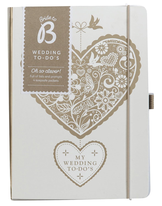 KTWO corazón boda organizador - para la planificación de la boda - pequeño para guardar en tu bolso