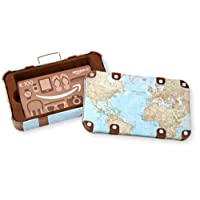 Amazon.de Geschenkkarte in Geschenkbox (Reisekoffer) - mit kostenloser Lieferung per Post