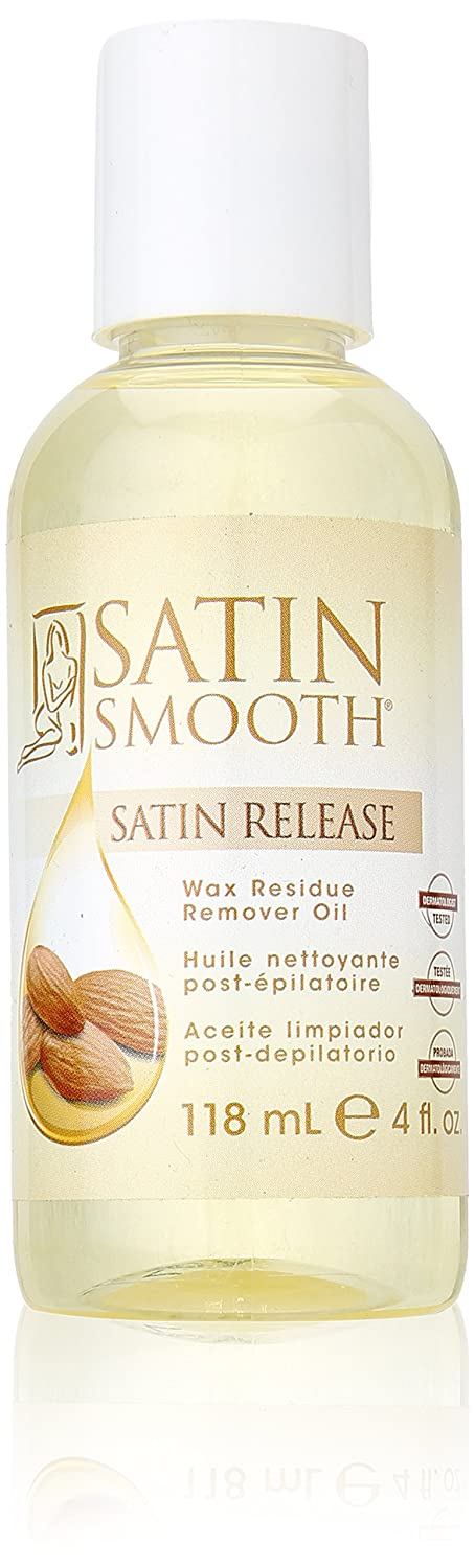 SATIN SMOOTH Release Wax Residue Remover 4-Ounce 0074108264206