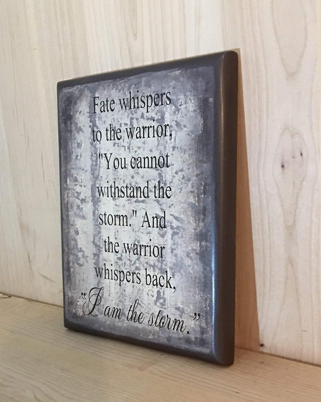 inspirational wood sign motivational sign I am the storm wood sign inspirational gift inspirational wall d/écor