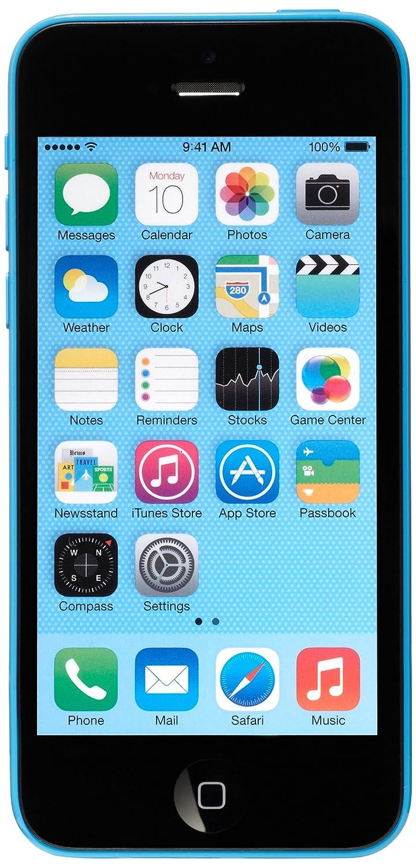 1b1336fbffe Apple iPhone 5C 8GB Blue Unlocked - Acceptable