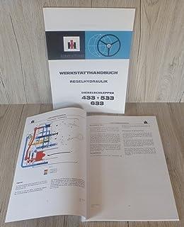 Werkstatthandbuch für IHC Schlepper 844