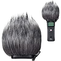 YOUSHARES Furry Exterior Parabrisas Muff, Filtro Pop/Parabrisas Protector para Zoom H1n, H1 Práctico Portátil Grabador