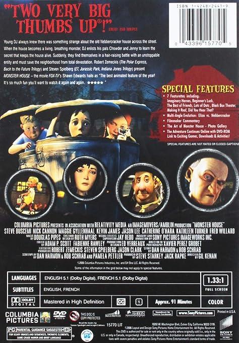 Monster House [USA] [DVD]: Amazon.es: Kenan, Gil, Gyllenhaal ...