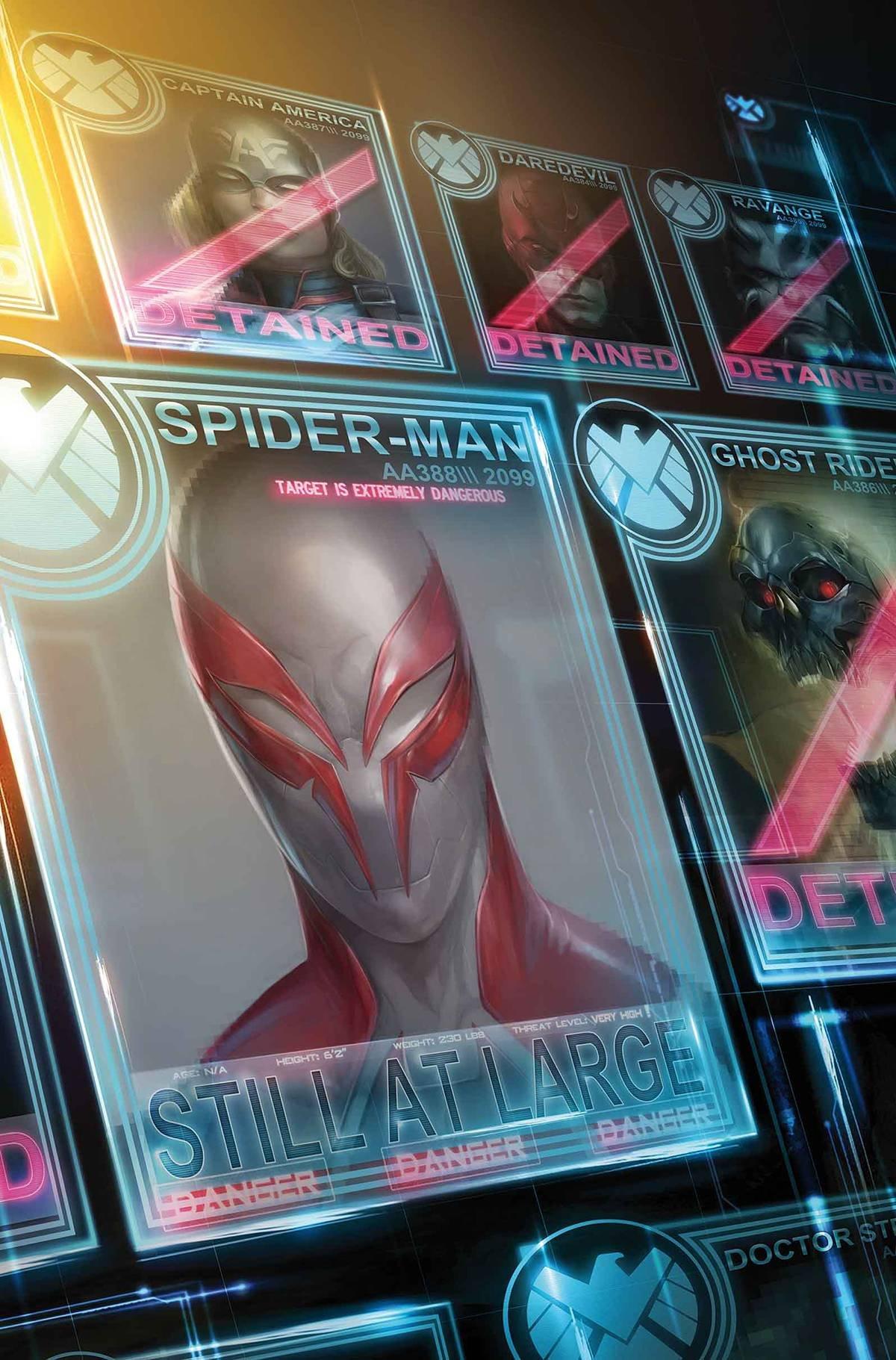 SPIDER-MAN 2099 #15 VOL 3 COVER A CIVIL WAR II PDF