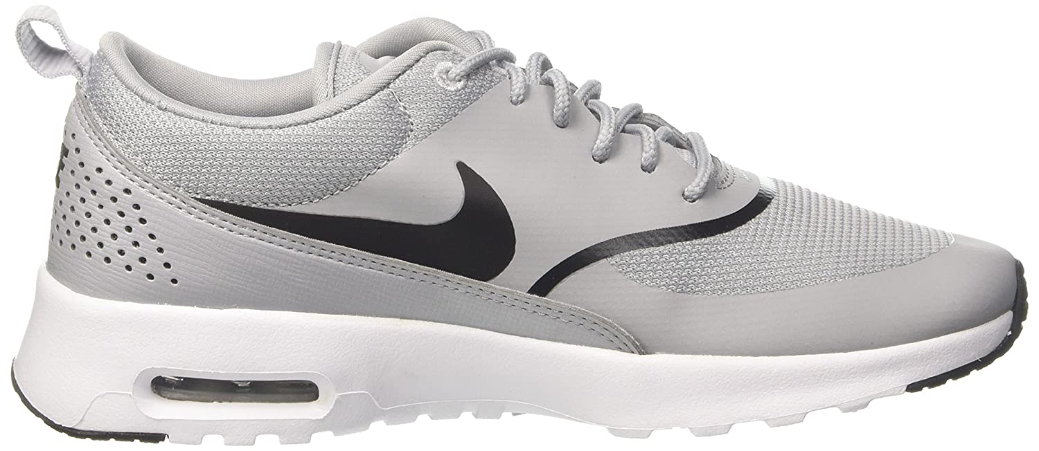 NIKE Women's Air Max Thea Low-Top Sneakers, Black B075ZYLYX2 6 M US|Grey (Wolf Grey/Black 030)