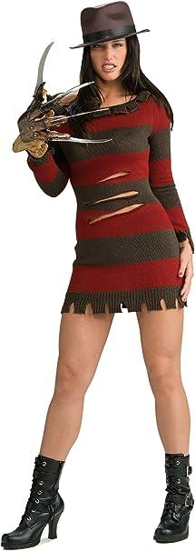 Rubbies - Disfraz de Freddy Krueger para mujer, talla M (888636_M ...