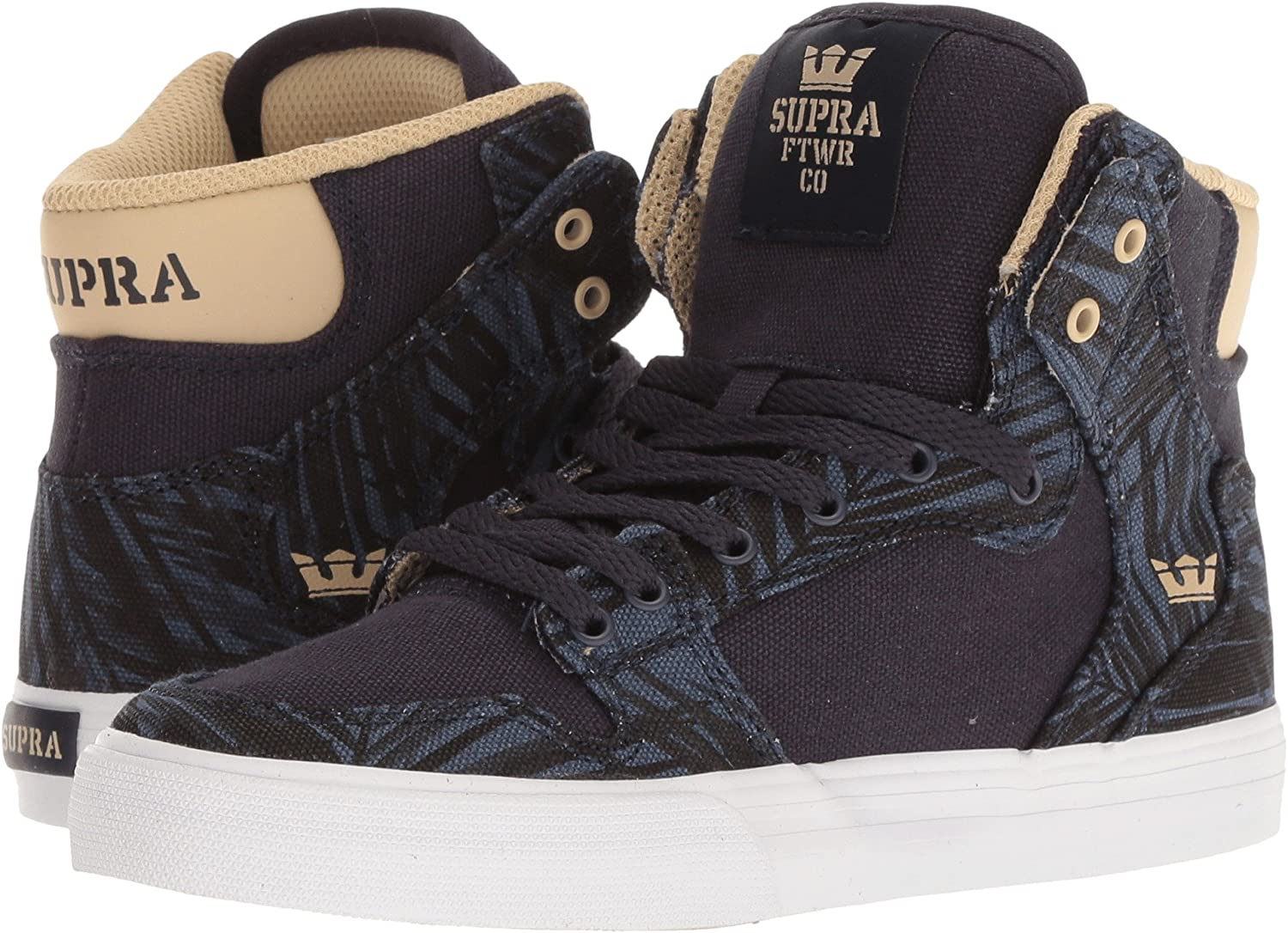 Supra Mens Skytop III Shoes Navy/Mojave/White