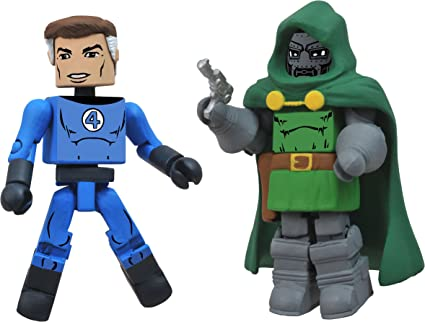 Marvel Minimates Best Of S2 Figure 2-Pack: Mr. Fantastic/Dr. Doom: Amazon.es: Juguetes y juegos