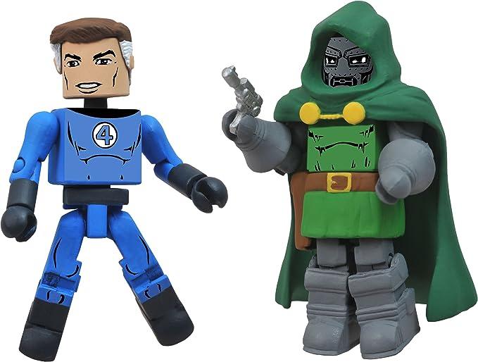 Marvel Minimates Best Of S2 Figure 2-Pack: Mr. Fantastic/Dr. Doom ...