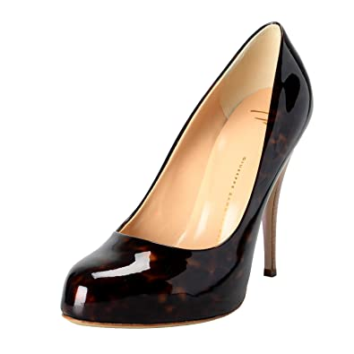 Image Unavailable. Image not available for. Color  Giuseppe Zanotti Design  Women s Brown High Heels ... 06fc7017cc