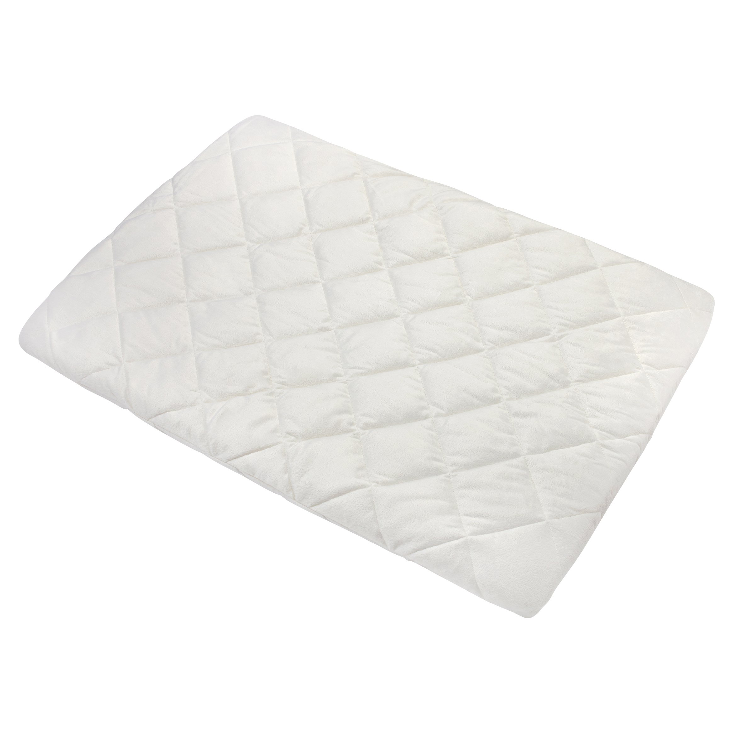 Carter's Quilted Playard Sheet, Solid Ecru, One Size