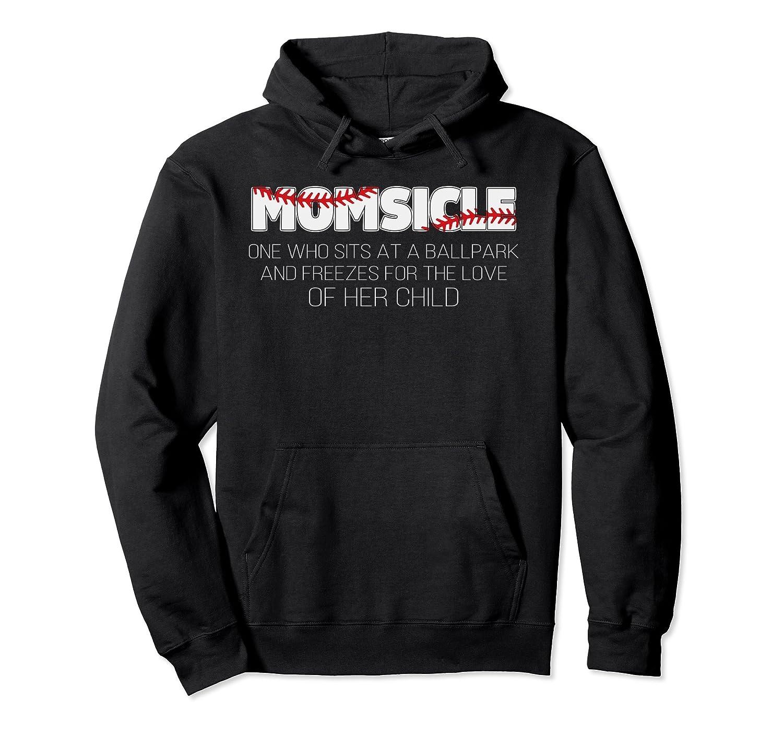 MomSicle funny baseball Pullover Hoodie-alottee gift