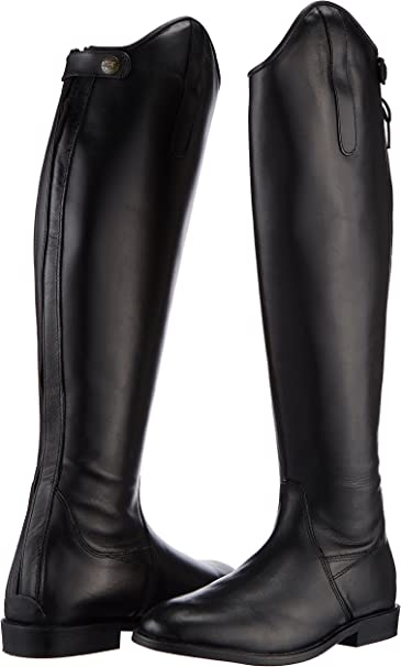 Softleder HKM Reitstiefel -Spain- Mens Classic Boots Normal//Weit