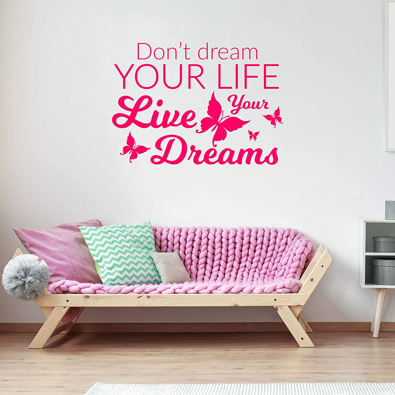 Amazon Com Don T Dream Your Life Inspirational Quotes Wall