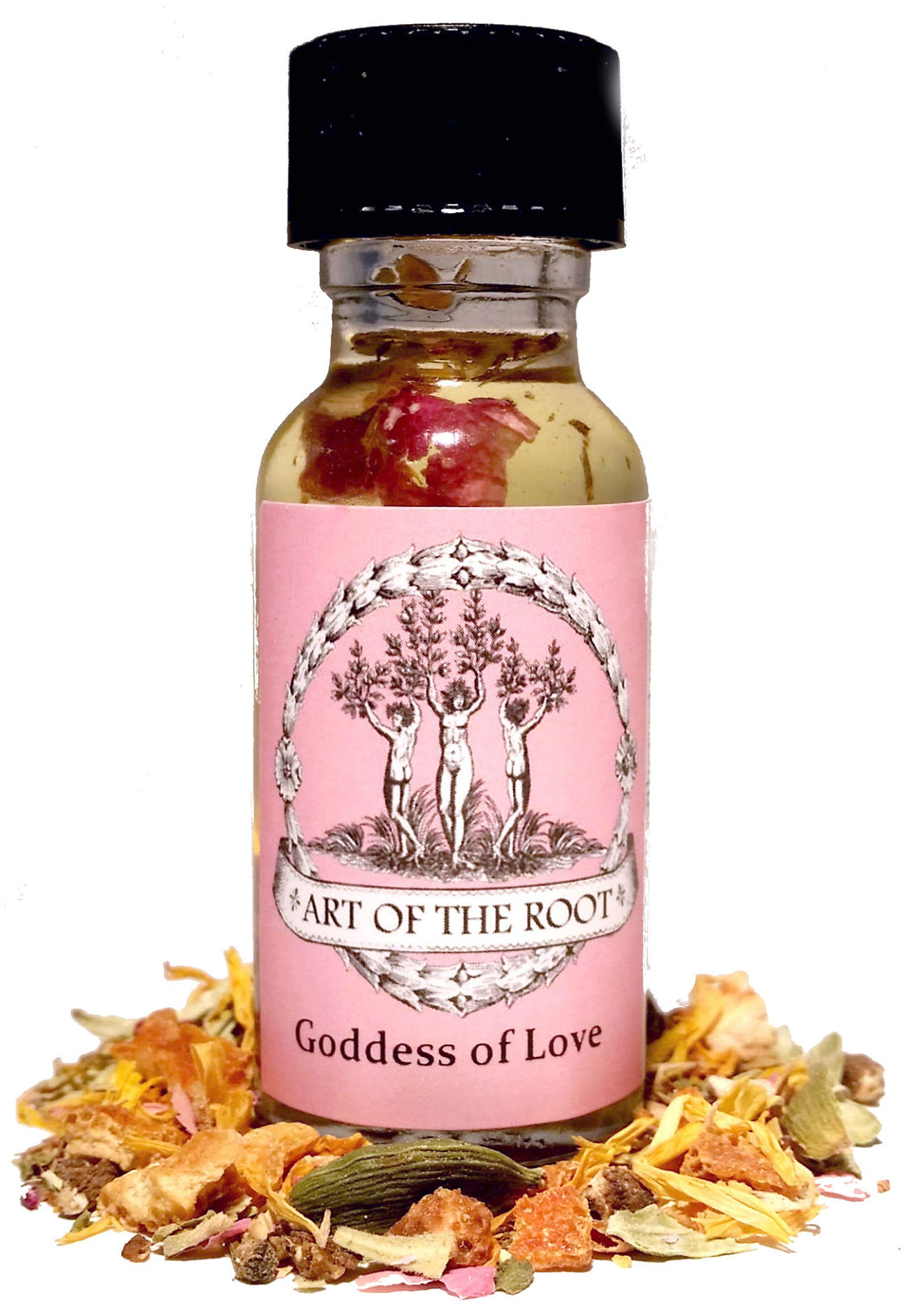 Goddess of Love Oil 1/2 oz Hoodoo Voodoo Wiccan Pagan Conjure Santeria