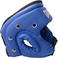 Kai Approved Goodwin Karate Face Protective Head Guard MMA Punch Helmet Red and Blue Set - Pack of 2