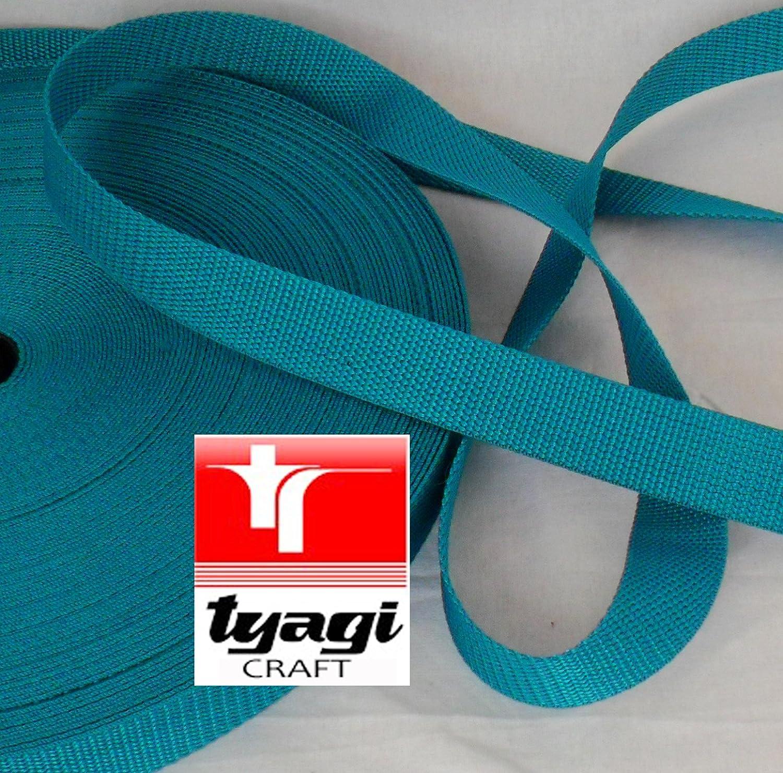 40mm PP Webbing Polypropylene Strap Upholestry Bags Sturdy PP Tape Harness Tent Mending Beige 1 MTR Tyagi Craft