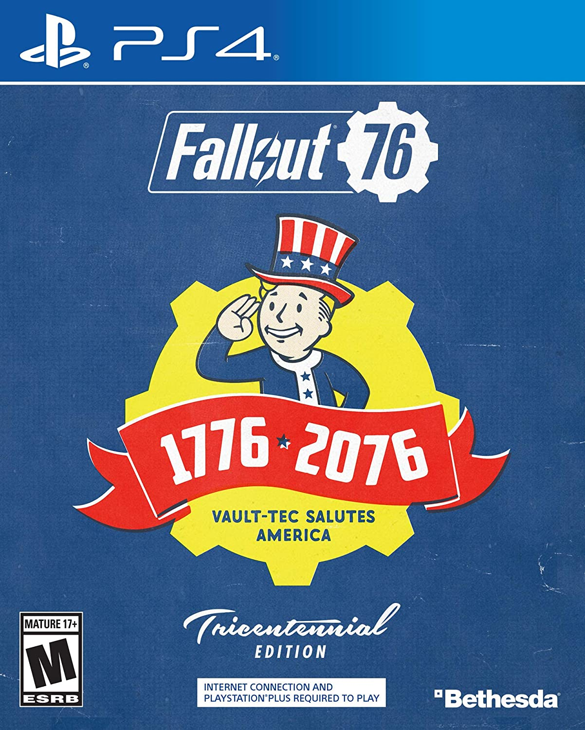 Amazon com: Fallout 76 Tricentennial Edition - PlayStation 4