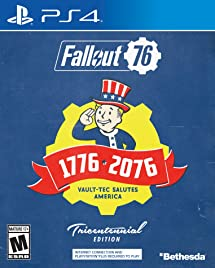 Fallout 76 Tricentennial Edition - PlayStation 4     - Amazon com
