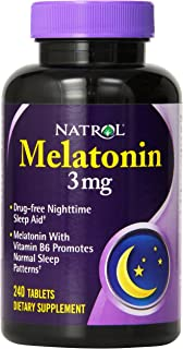 Natrol Melatonin 3 mg 240 Tabs