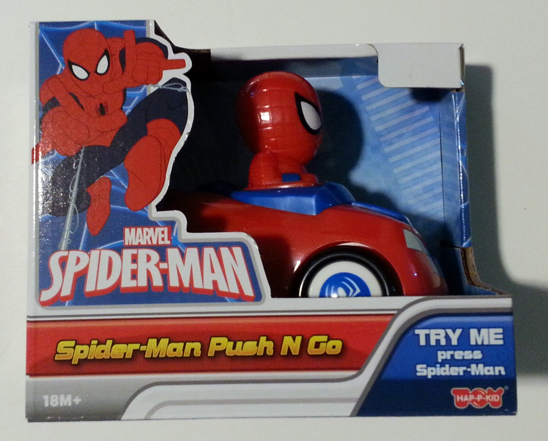 Marvel Spiderman Push N Go