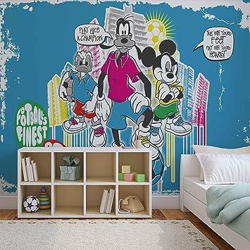 Amazon.de: Disney Micky Maus - Forwall - Fototapete - Tapete ...