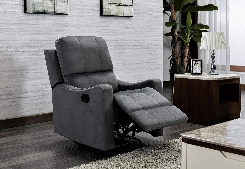 US Pride Furniture Chair, Grey