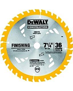 Freud D0724PX Diablo 7-1//4 pouces 24 Dents ATB carbure Encadrement Lame de scie 2 Pack