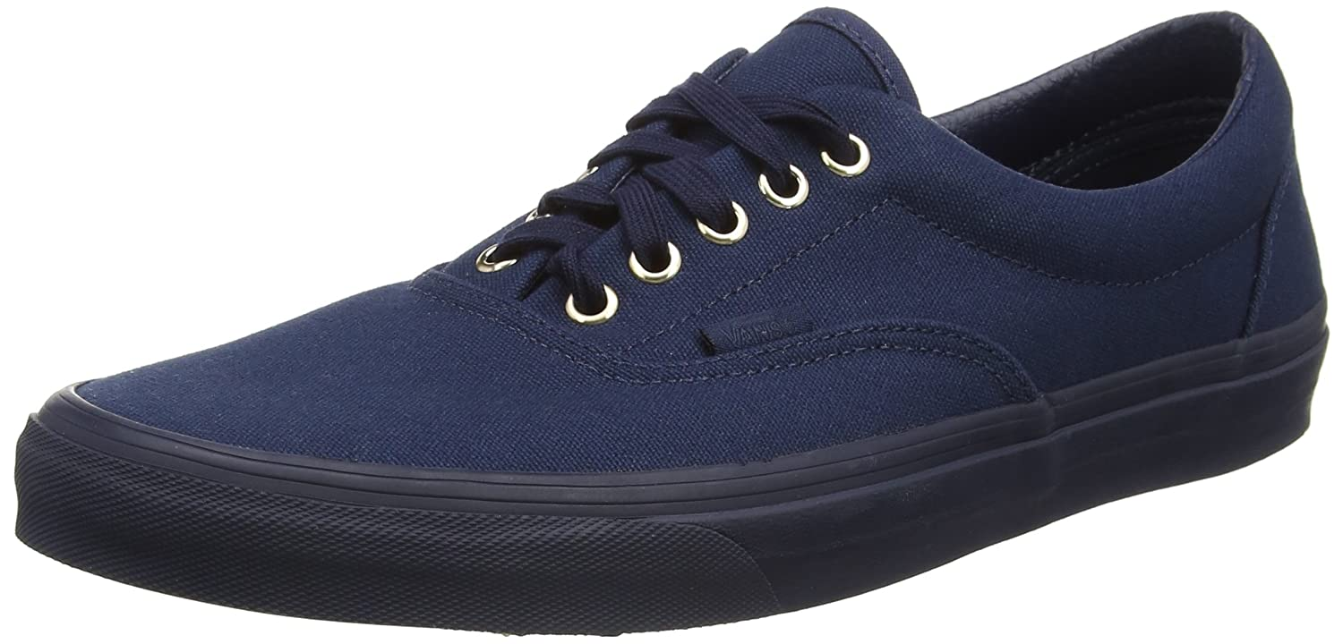 Vans Unisex Era Skate Shoes, Classic Low-Top Lace-up Style in Durable Double-Stitched Canvas and Original Waffle Outsole B019FVT44M 7.5 B(M) US Women / 6 D(M) US Men|Dress Blue